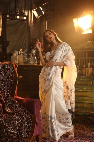 Bengal Handwoven Pure Matka Silk Saree