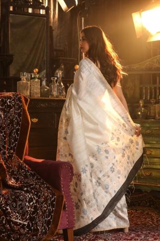 Bengal Handwoven Pure Matka Silk Saree 2