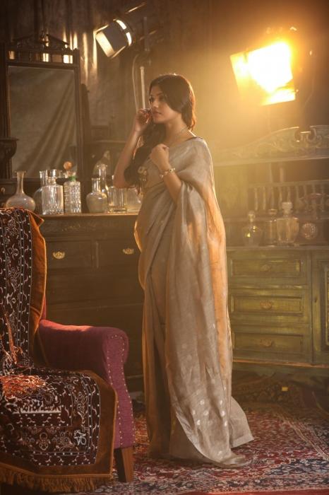 Fine Quality Pure Silk Linen Saree 2