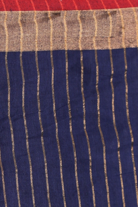 Silk Cotton Handwoven Saree 2