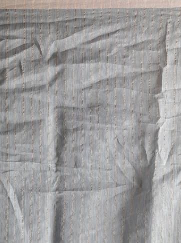 Ash Hand woven Cotton Handspun Saree 2