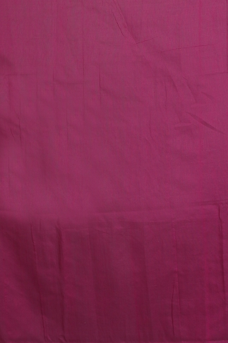 Magenta with Ghicha Work Hand Woven Blended Cotton Saree 2
