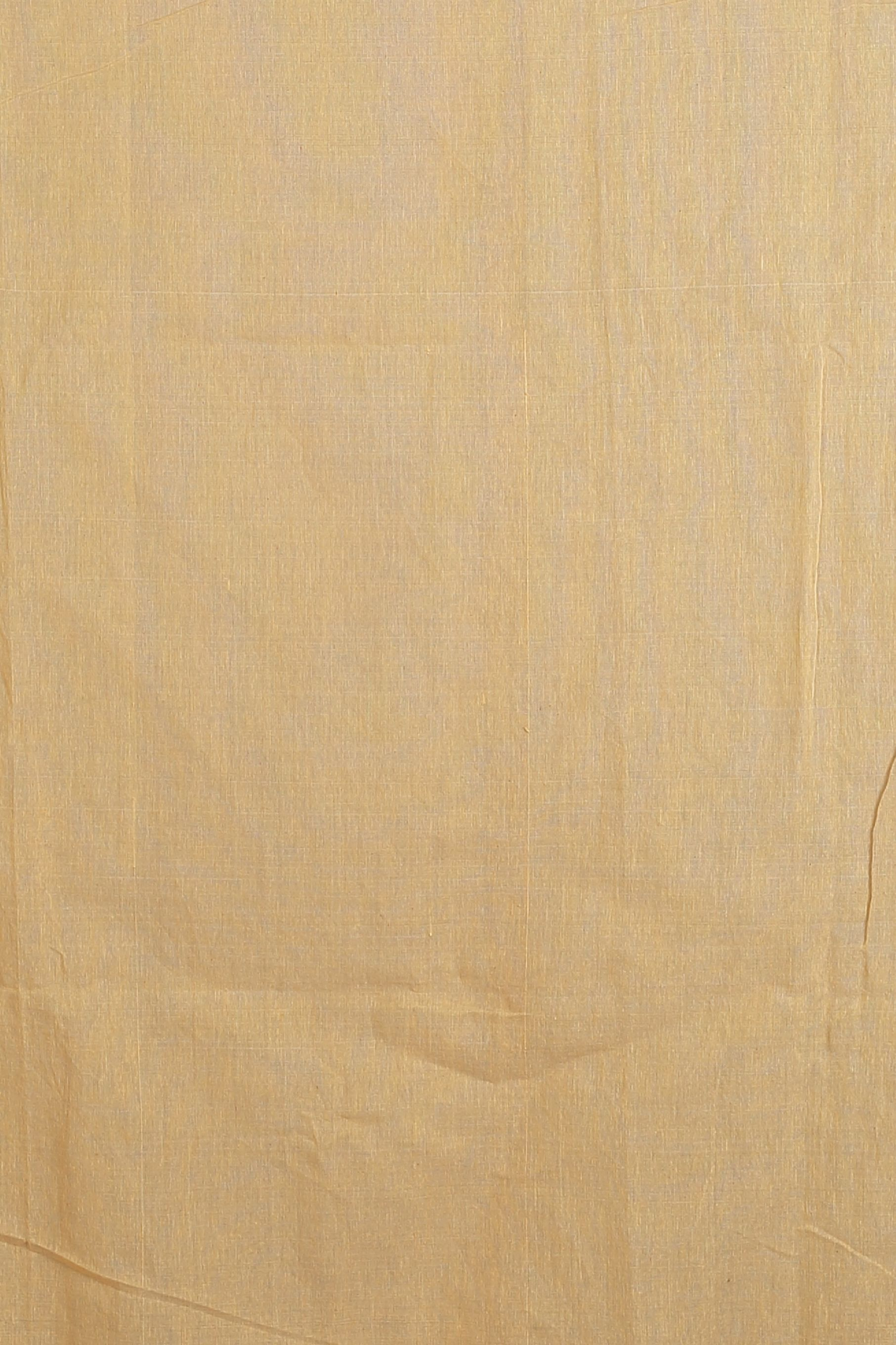 Beige and Red Hand Woven Blended Cotton Saree 2